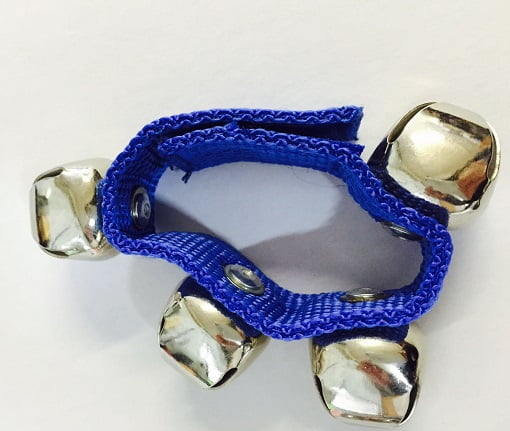 Blue Wristband with bells