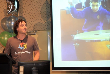 Josh presenting at SEPLA Conference
