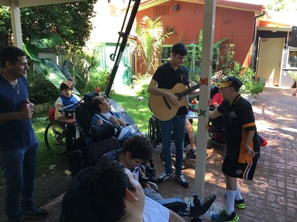Music workshop at AFFORD