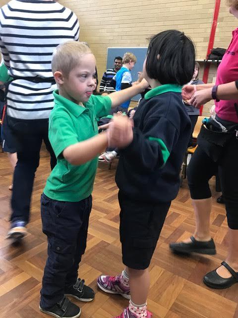 Dancing at Malkara School