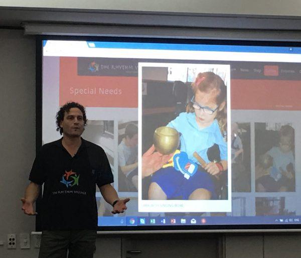 Josh presenting at Sepla