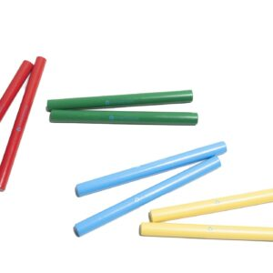 Coloured Clapping Sticks